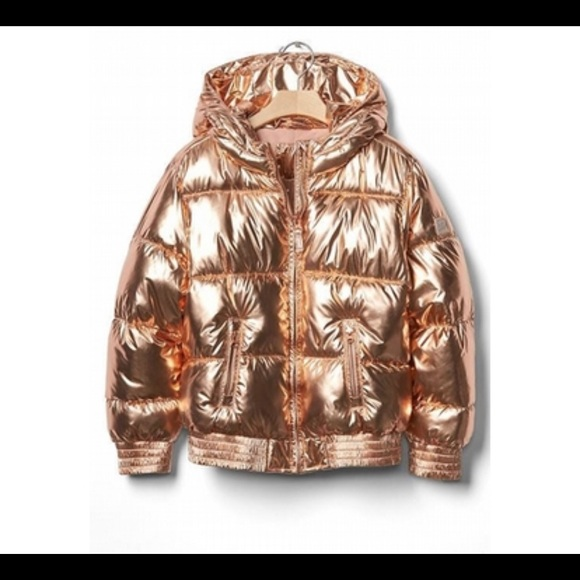 GAP Other - NWT!! GAP Girls Puffer Jacket